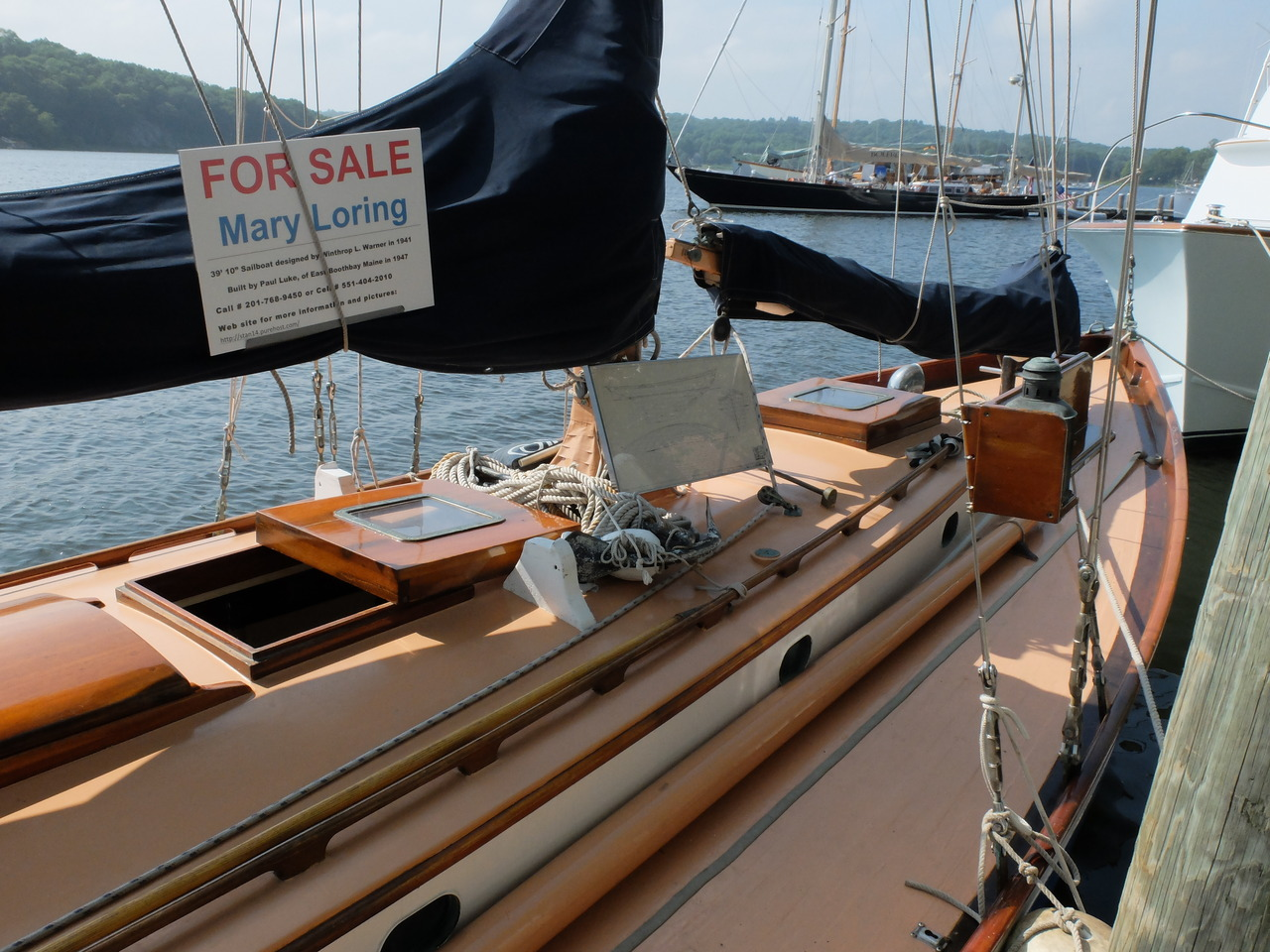 Mary Looring A Classic Wooden Boat For Sale Worlds End