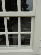 Linseed putty glazing - ny