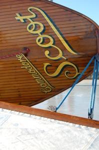 Ice boat name board
