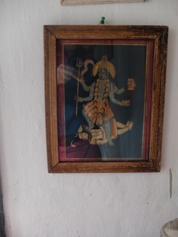 kali indian art