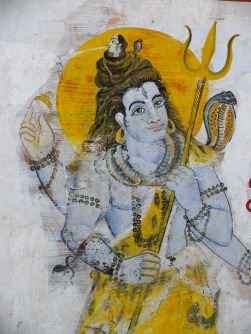 Shiva - wall art- india
