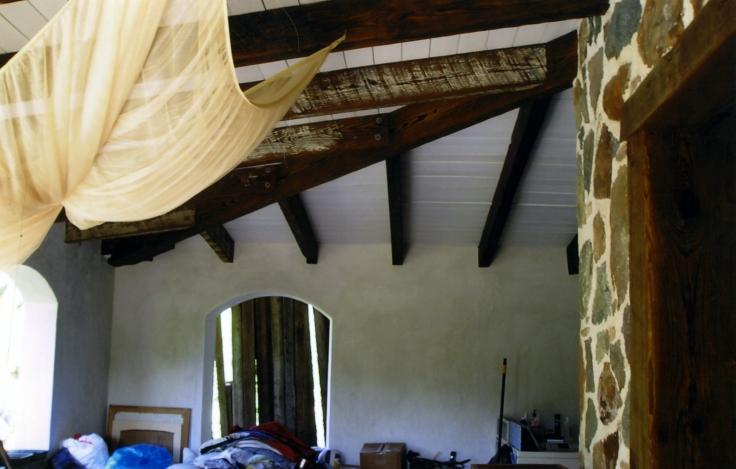 arched concrete door- st john usvi
