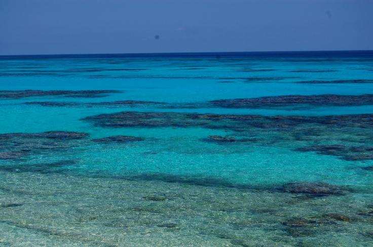 Bahama's water