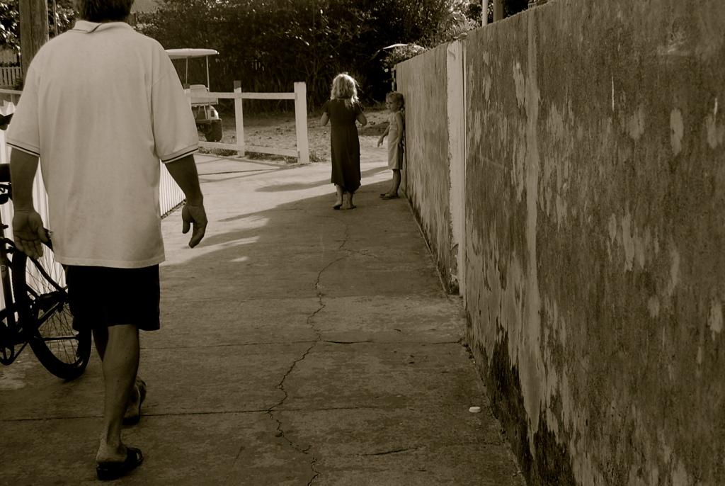 sunday walk in the abaco's Bahamas