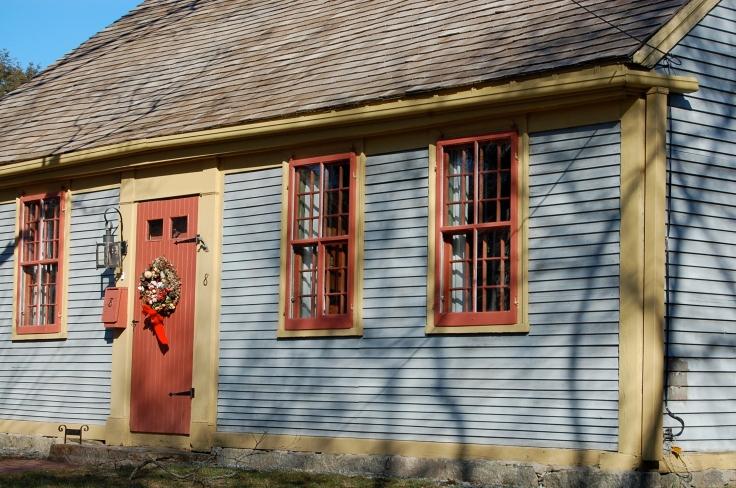 New England Plank Door