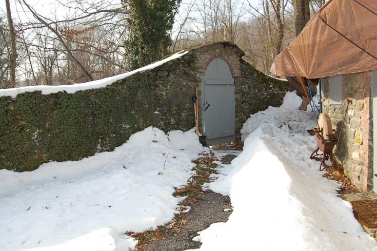 Old Dutch Mill Door