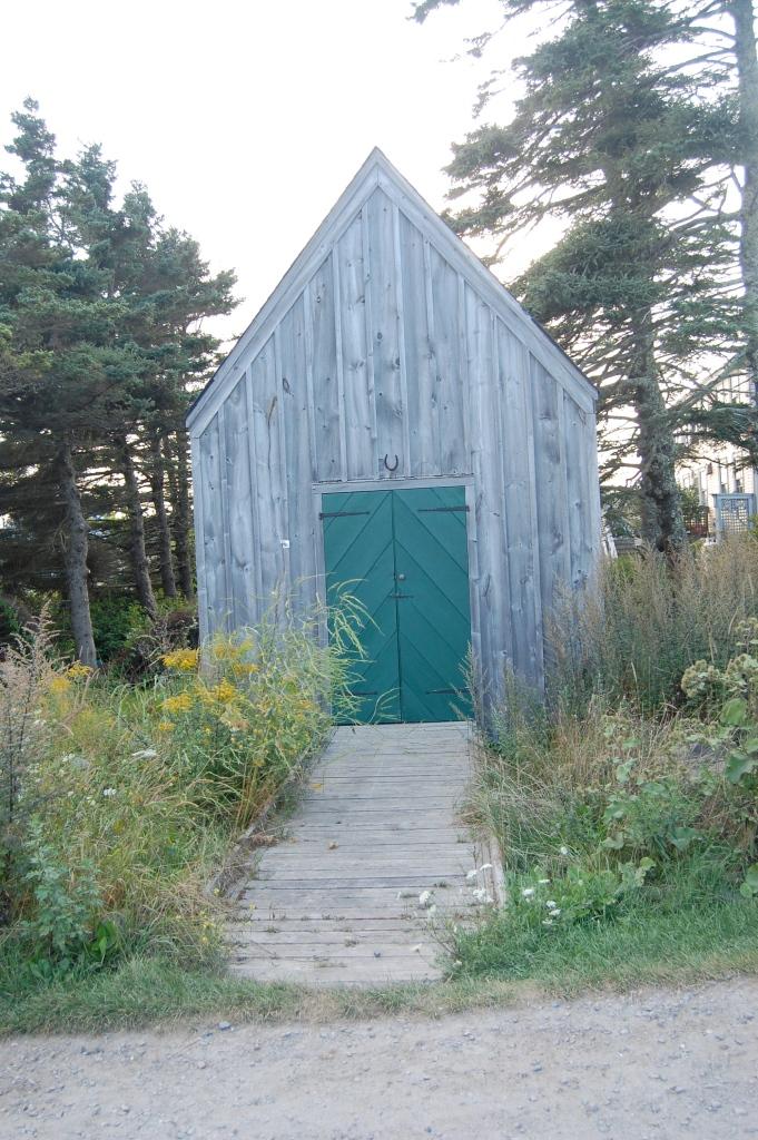 Diagonal Plank Door