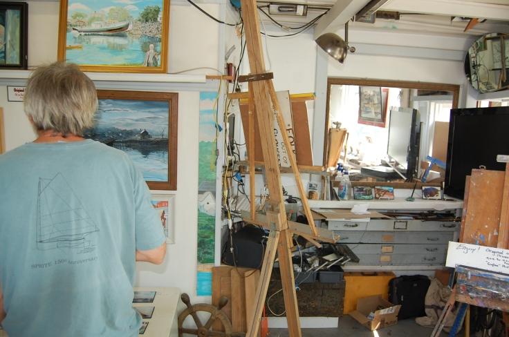 Artist studio Gloucester MA