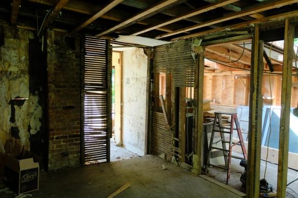 old kitchen walls