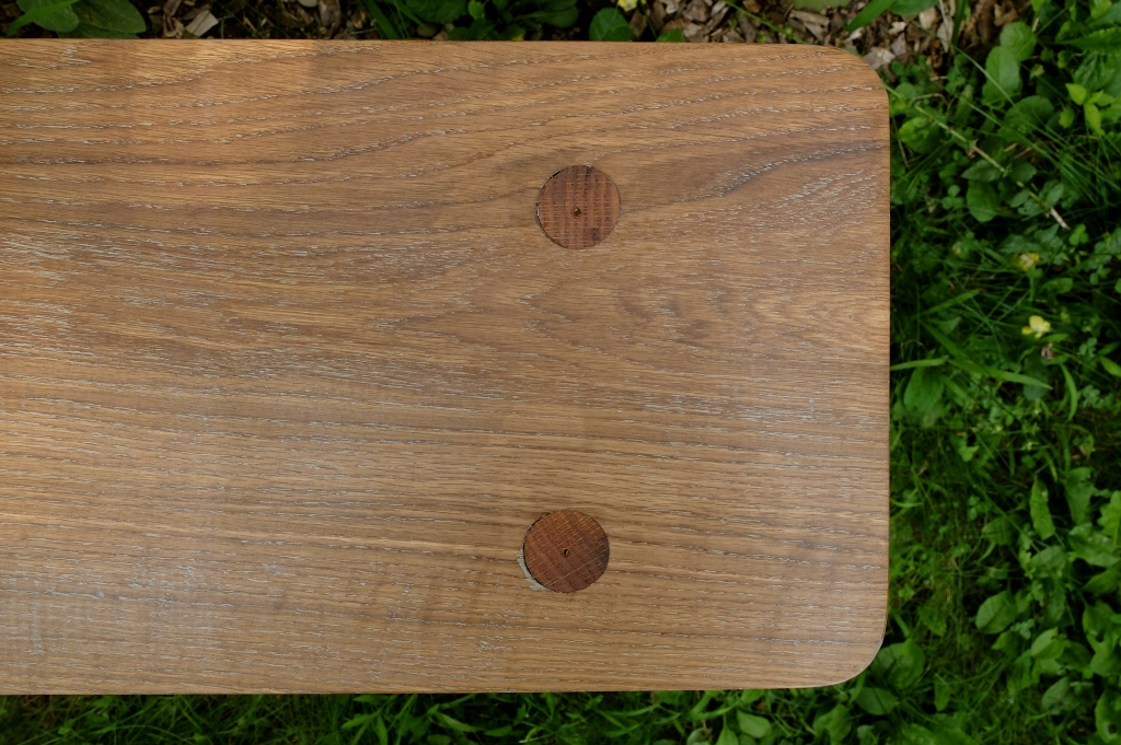 Detail of Oak Bench