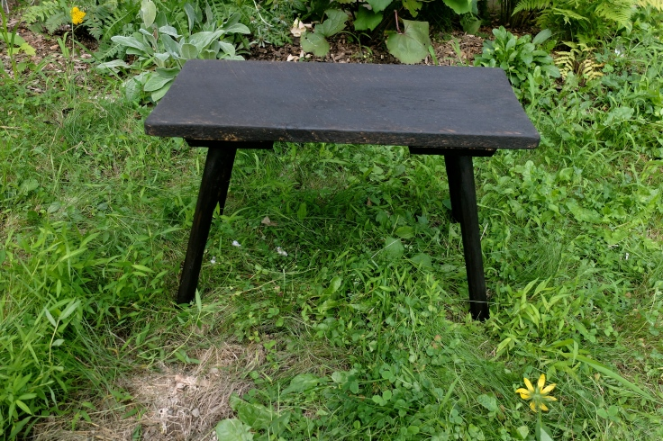 Falun Black Dowel leg Low Table