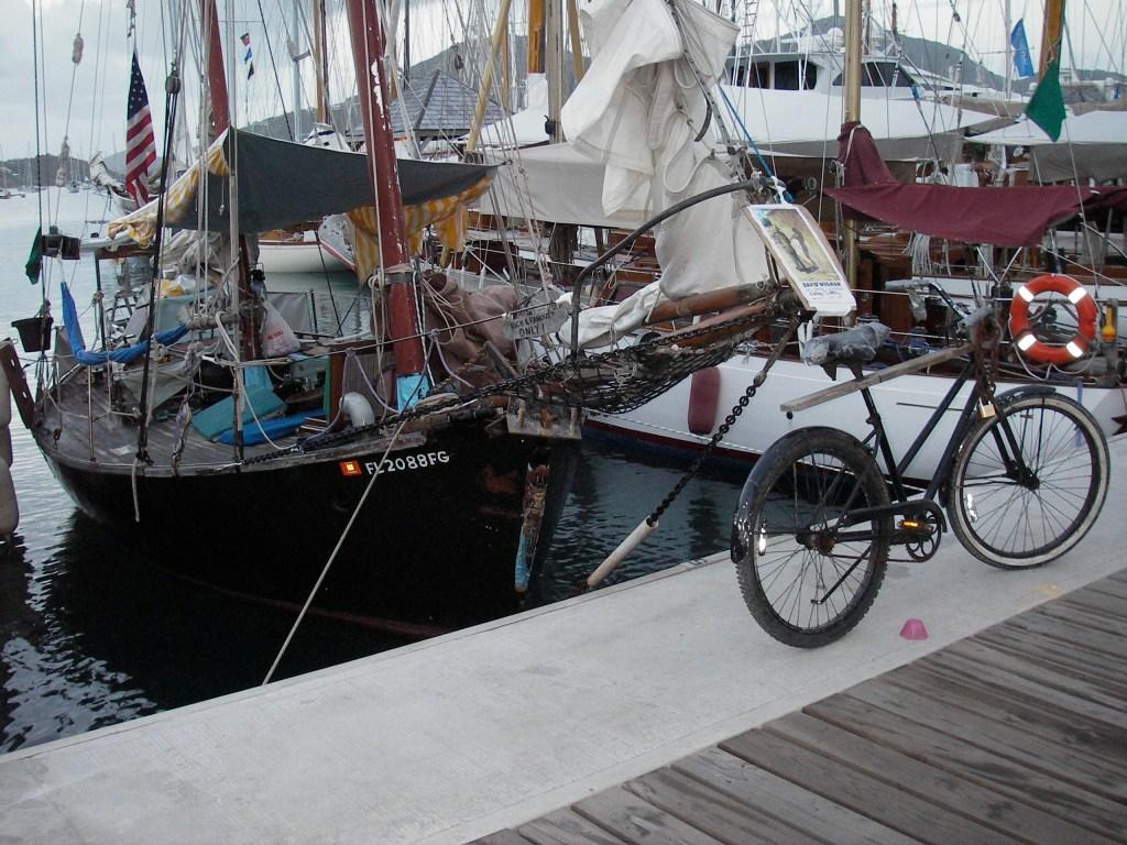 David's boat has sailed the world