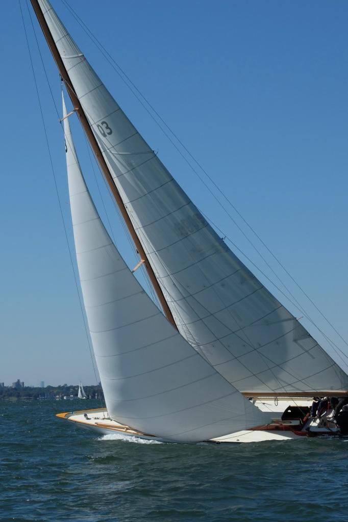 Q Class Wooden Boat