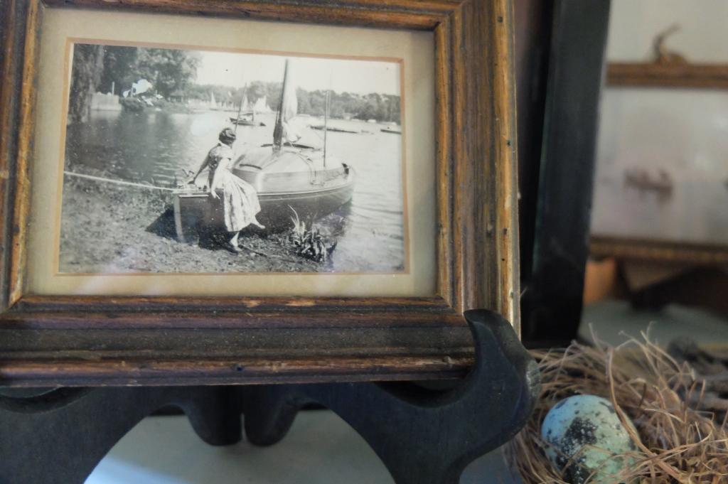 lady on a boat