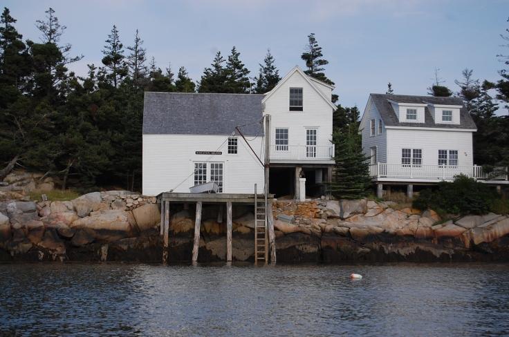 Maine island Living