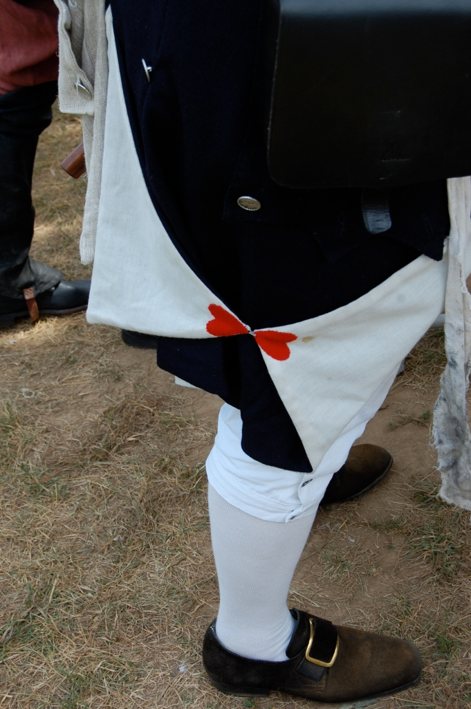 colonial jacket detail