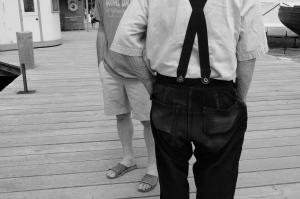 well worn broadfall pants