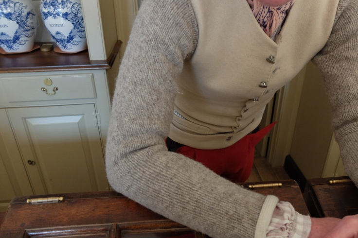 hand made sweater sleave vest