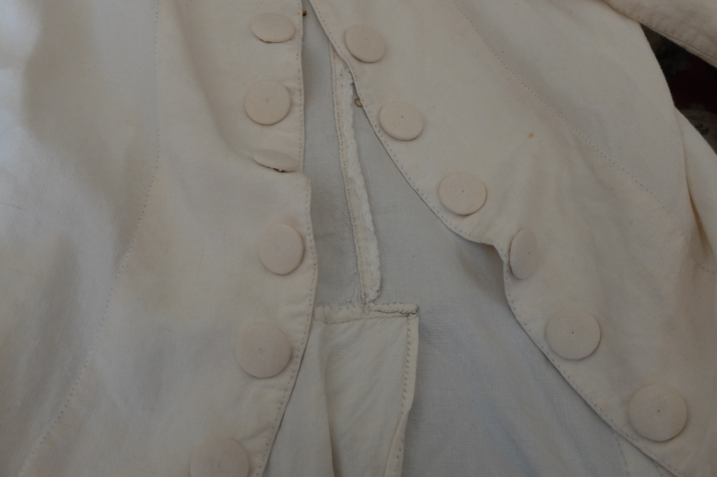 Linen coat. williamsburg va
