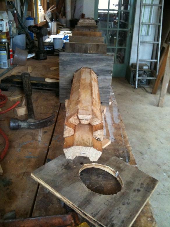 Wooden Spar Construction