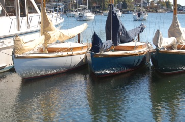 S Boats waiting winter storage Brewers NY