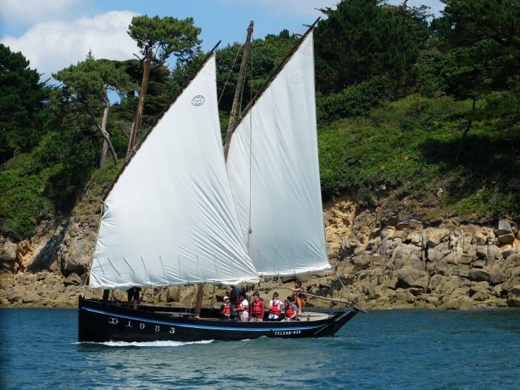 Wooden boat festival in dourdenez France – Worlds End
